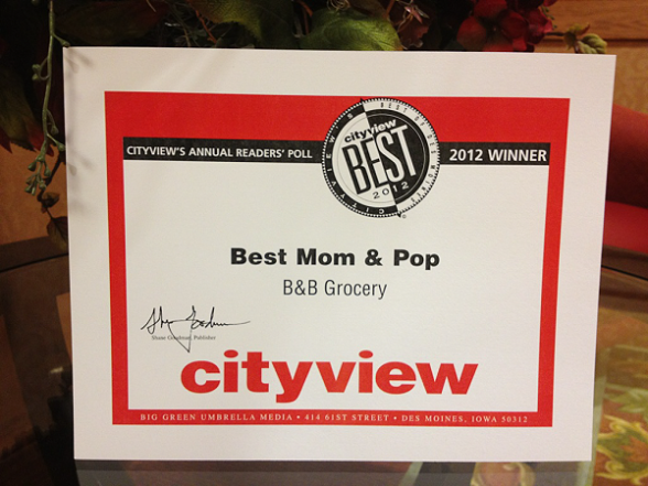 Des Moines Best Mom and Pop by Cityview