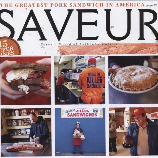 Des Moines Breaded Pork Tenderloin in Saveur Magazine