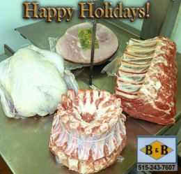Holiday Ideas from Iowa Butchers