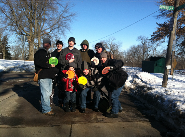 Des Moines Winter Frisbee Golf Week 79