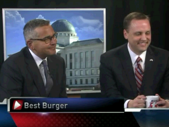 Best Burger vote by Rep Hagenow