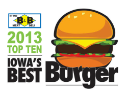 Iowa Best Burger Top 10