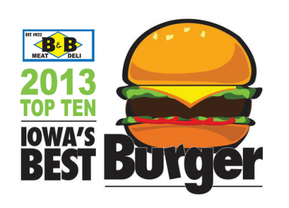 2013 Best Burger Top 10