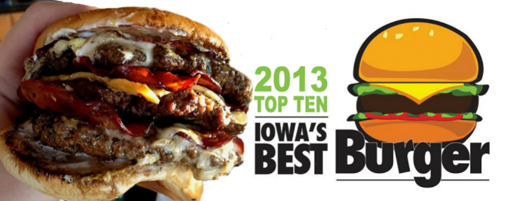 2013 Iowa Best Burger Top 10